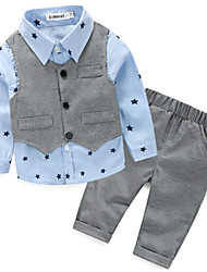Boy's Cotton / Polyester Clothing Set , Spring Long Sleeve