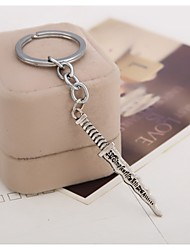 New Arrival Movie Snow White Dwarf Monster Dagger Keychain Alloy Pendant Christmas Gift Key Chain