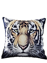 3D Design Print Tiger Decorative Throw Pillow Case Cushion Cover for Sofa Home Decor Polyester Soft Material