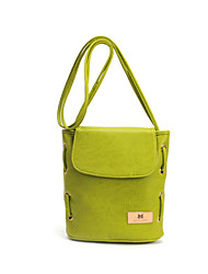 L.WEST® Women's Lovely Pure Color Restoring Ancient Ways Bucket Shoulder Bag