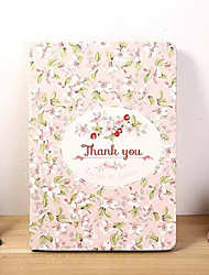 Pink Flower PU Leather Full Body Case With Stand for iPad Mini 3/2/1