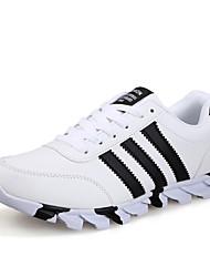 Turnschuhe Herren Schuhe Tüll Schwarz / Weiß