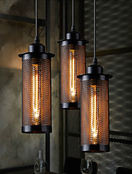 40w Personality Industrial Lighting Counter Lamps Vintage Pendant Lights Edison Bulbs AC 110-220V