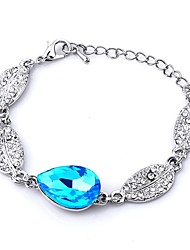 2016 Gift!!! Fahion Silver Plated Bracelets & Bangles Crystal Beads Charm Bracelets For Women DIY Jewelry Pulsera