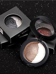 2 Lidschattenpalette Trocken Lidschatten-Palette Puder Normal Alltag Make-up
