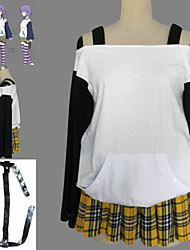 Rosario and Vampire Shirayuki Mizore Anime Halloween Cosplay Costume