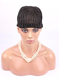 5PCS Cornrows cap for easier sew in,braided wig caps crotchet black brown 2 styles S M L high quality guarantee