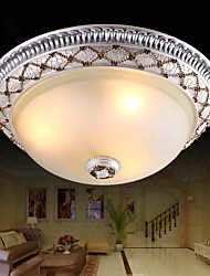 35*15CM  Europe Type Resin Glass Dome Light Sweet Bedroom Study Led To Absorb Dome Light LED Lamp