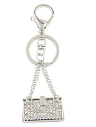Fashion Trendy Rhinestone Set Metal Handbag Key Ring/Handbag Accessory