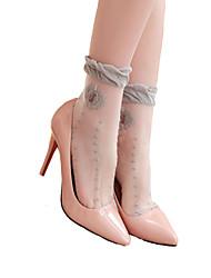 Damen Socken  -  Spitze Dünn