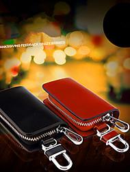 clés fournitures automobiles boucle de voiture en cuir véritable clé sac / homme taille suspendus ensembles clés de but général
