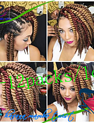 Hot Sale 1Pack/Lot 12-24Inch Synthetic Hair Kanekalon Fiber Havana Twist Crochet Braids for Female
