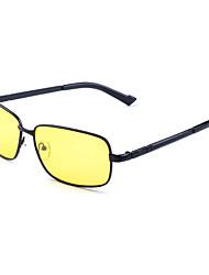 Sunglasses Men's Classic / Retro/Vintage / Sports / Fashion / Polarized Square Black / Gold Goggles / Driving / Night Vision Goggles