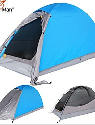 Top Brand Quality Double Layer 1-2 Person Rainproof Outdoor Camping Tent