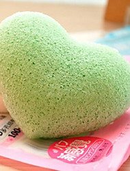 4PCS Natural Konjac Konnyaku Jelly  Clean Powder Puff  Cleansing Cotton Cleansing Sponge Face Cleansing Wash Sponge Puff
