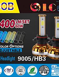 liancheng® 60w 6400lm 9 ~ 32V hohe Helligkeit cob LED-Scheinwerfer-Kit-9005 / hb3 / h10 für Auto, Off-Road, utv, atv