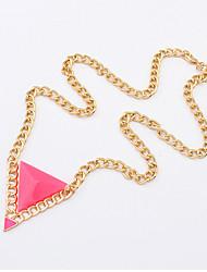 Cute / Casual Alloy Pendant Necklace