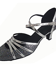 Customized Women's Cloesed Toe Dance Shoes Customized Ballroom Shoes for Women