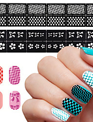 1pcs  Nail Polish Painted Stencil Template