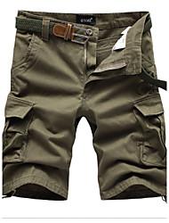 Men's Shorts , Casual / Sport Pure Cotton / Acrylic K141