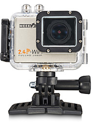MEEE GOU MEE+5 Sports Action Camera 16MP 3264 x 2448 / 2304 x 1728 / 4000 x 3000 WiFi / 4K / Waterproof / Wide Angle 60fps No ±2EV 2 CMOS