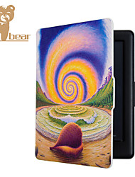 Smart Printed Protective Cover Leather Case For Kobo Touch 2.0 Daydream Snail (2015) Ereader Ebook Case