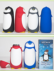 1X Penguin Cartoon Coffee Mug Double Layer Stainless Steel Cup Present & Christmas Gift