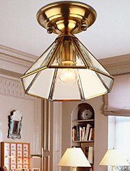 5 Traditional/Classic Mini Style / Bulb Included Brass Metal Flush Mount / Spot Lights Hallway
