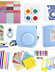 Camera Accessory Bundles Set for Fujifilm Instax Mini 8 (Mini Film/Mini 8 case/ Sticker/ Album etc.(Blue)
