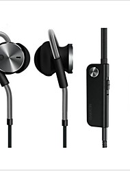 Huawei AM180 Earphone Active Noise Canceling Hi-Fi In-ear Headphone Headset 3.5mm Jack Control+Mic for Ascend Mate 7 P8