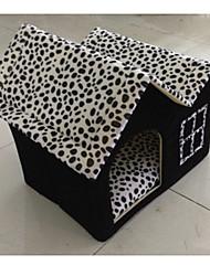 Кровати Животные Коврики и подушки Компактность Черный Котон