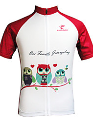 JESOCYCLING Cycling Tops / Jerseys Women's BikeBreathable / Ultraviolet Resistant / Quick Dry / Antistatic / Lightweight Materials / Back