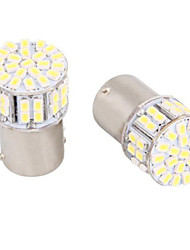 1156 / ba15s 5w 50 smd weiße LED für Autolenklicht / backup / Bremslicht (12 V DC, 4 Stück)