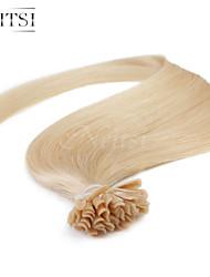 """neitsi 20 """"1g / с 50g кератина слияние у ногтей наконечник прямые Ombre расширения человеческих волос # 24"""