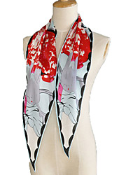 Lyza Women Pure Silk Long Silk Scarf