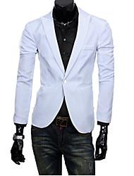 High Quality Brand Fashion Men's Long Sleeve Regular Blazer , Polyester Pure Stylish Men blazers