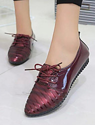 Women's Shoes Pump Breathe Freely Dunk Low Flat Heel Comfort / Pointed Toe Flats Outdoor / Casual