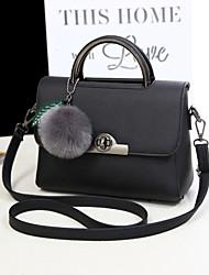 M.Plus® Women's Korean OL PU Leather Messenger Shoulder Bag/Tote