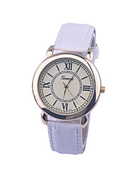 Unisex Geneva Style Watch/Vintage Watch/Ladies Watch/ Women Premium Faux Leather Wristwatch Cool Watches Unique Watches