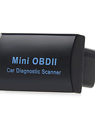 Black Mini Bluetooth Obd Ii Obd2 Obdii Scanner Can Bus Interface Diagnose Unit