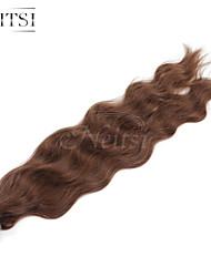 """neitsi 20 """"1 г / с кератином слияние у прибить наконечник естественная волна 100% человеческих волос расширения 6 #"""