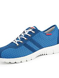 Men's Running Shoes Tulle Blue / Green / Gray