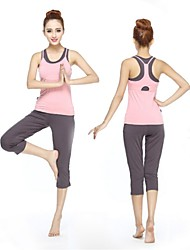 Women Sexy Fashion Sports Casual Running Suit Yoga Sets Gym Suits (Suits =Bra Vest+Gallus+Half Pants)