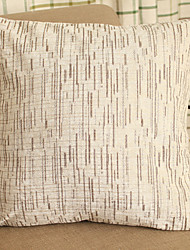 Contemporary And Contracted Chenille Jacquard Stripe Pillow