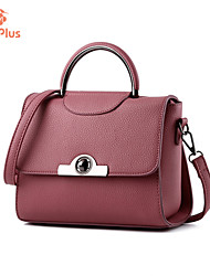 M.Plus® Women's Fashion PU Leather Messenger Shoulder Bag/Tote