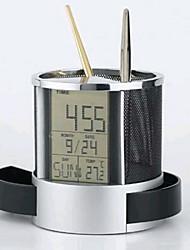 fil multifonctionnel horloge net calendrier stylo