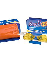 Super-K Lunettes de natation Enfant Anti-brouillard / Etanche / Taille ajustable / Incassable / Sangle antidérapantGel de silice /