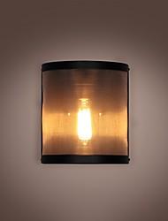 Мини Промывать настенные светильники для монтажа,Рустикальный E26/E27 Металл