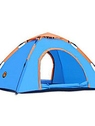 SHAMOCAMEL 2 persons Tent Single Automatic Tent One Room Camping Tent Breathability Anti-Insect-Camping-Blue Army Green