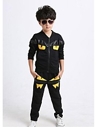 Kids Clothing Spring Autumn Casual Sport Suit Children Running Cotton Suits Children Long sleeve Sports Jackts